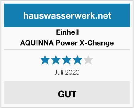 Einhell AQUINNA Power X-Change Test