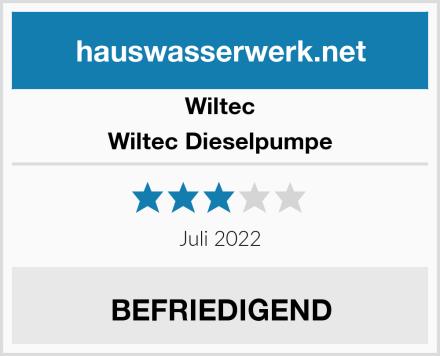 Wiltec Wiltec Dieselpumpe Test