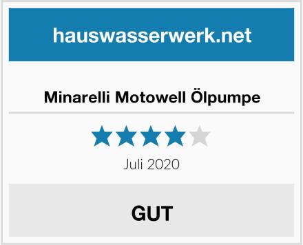 Minarelli Motowell Ölpumpe Test