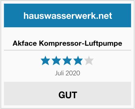 Akface Kompressor-Luftpumpe Test