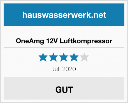 OneAmg 12V Luftkompressor Test