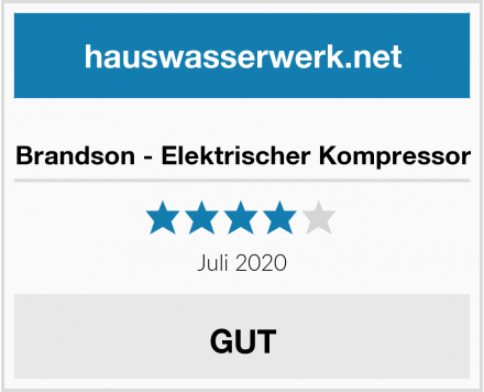 Brandson - Elektrischer Kompressor Test