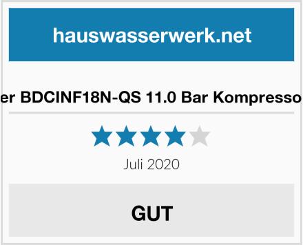 Black+Decker BDCINF18N-QS 11.0 Bar Kompressor/Luftpumpe Test