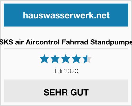 SKS air Aircontrol Fahrrad Standpumpe Test