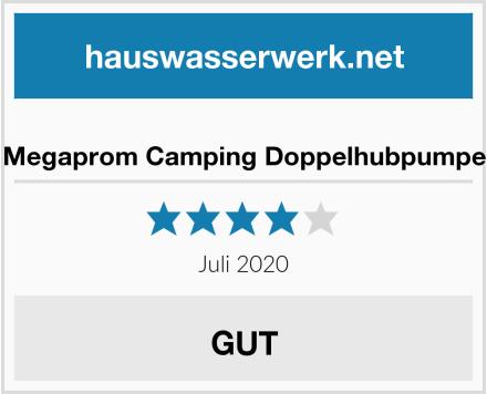 Megaprom Camping Doppelhubpumpe Test