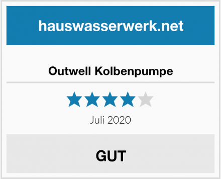 Outwell Kolbenpumpe Test