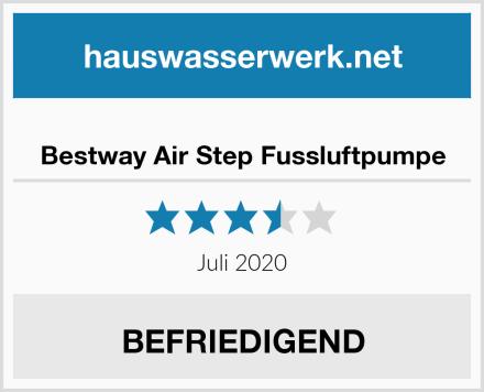 Bestway Air Step Fussluftpumpe Test