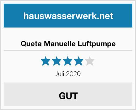 Queta Manuelle Luftpumpe Test