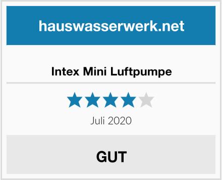 Intex Mini Luftpumpe Test