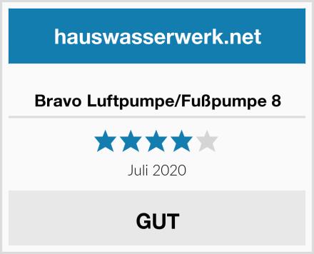 Bravo Luftpumpe/Fußpumpe 8 Test