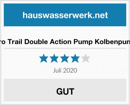 Euro Trail Double Action Pump Kolbenpumpe Test