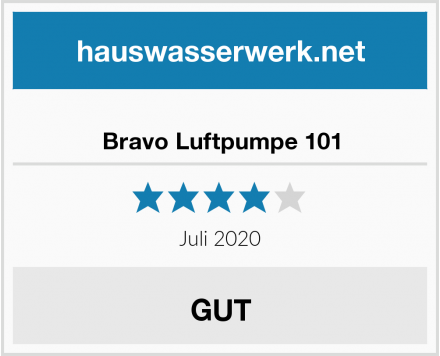 Bravo Luftpumpe 101 Test