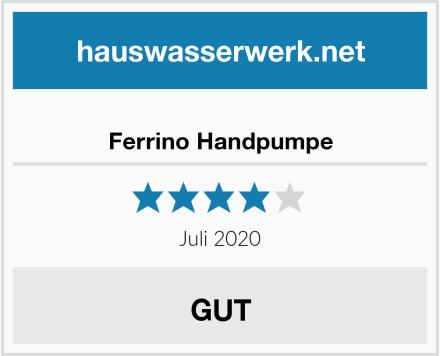 Ferrino Handpumpe Test