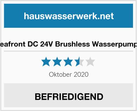 Seafront DC 24V Brushless Wasserpumpe Test