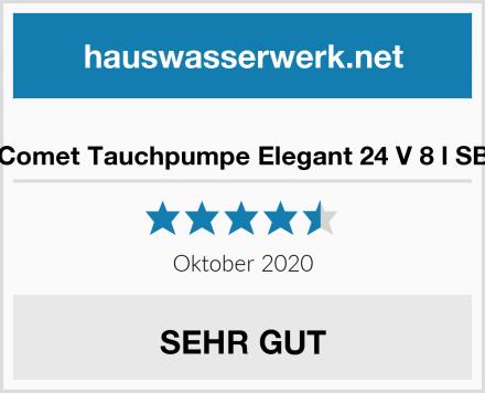 Comet Tauchpumpe Elegant 24 V 8 l SB Test