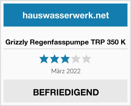 Grizzly Regenfasspumpe TRP 350 K Test