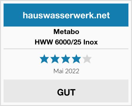 Metabo HWW 6000/25 Inox Test