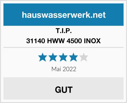 T.I.P. 31140 HWW 4500 INOX Test