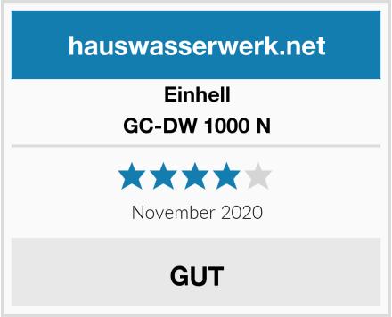 Einhell GC-DW 1000 N Test