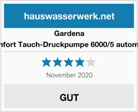 Gardena Comfort Tauch-Druckpumpe 6000/5 automatic Test