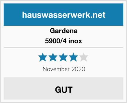 Gardena 5900/4 inox Test