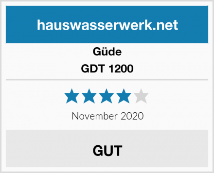 Güde GDT 1200 Test