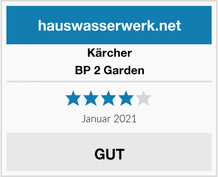 Kärcher BP 2 Garden Test