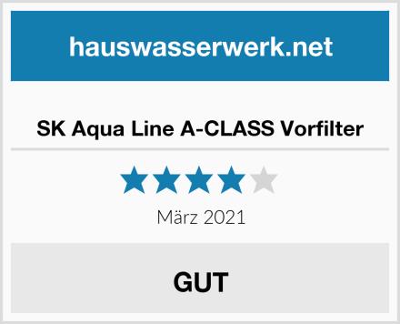 SK Aqua Line A-CLASS Vorfilter Test