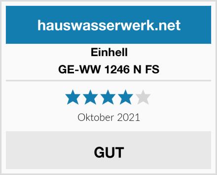 Einhell GE-WW 1246 N FS Test