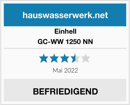 Einhell GC-WW 1250 NN Test