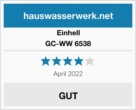 Einhell GC-WW 6538 Test