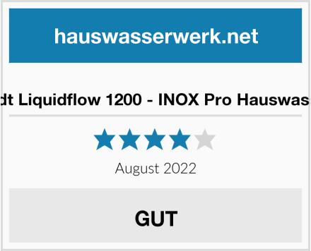blumfeldt Liquidflow 1200 - INOX Pro Hauswasserwerk Test