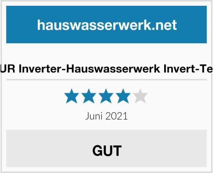 AMUR Inverter-Hauswasserwerk Invert-Tech2 Test