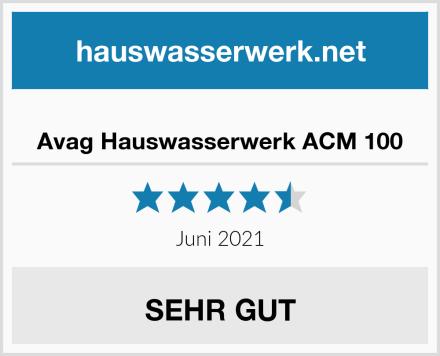 Avag Hauswasserwerk ACM 100 Test