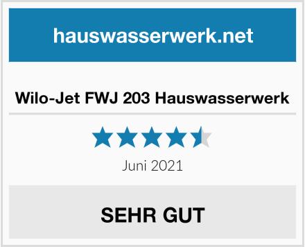 Wilo-Jet FWJ 203 Hauswasserwerk Test