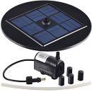 Agora-Tec AT-1,5W Solar Teichpumpe