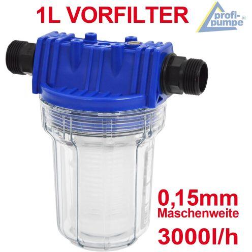 Amur Pumpenfilter für Hauswasserwerk
