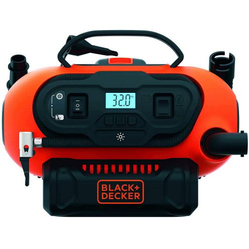 Black+Decker BDCINF18N-QS 11.0 Bar Kompressor/Luftpumpe