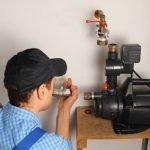 Regelmäßige Wartungen des Hauswasserwerkes